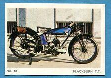MOTO - Ed. Raf - Figurina/Sticker n. 13 - BLACKBURN T.T. -Rec