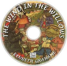 WIND IN THE WILLOWS AUDIOBOOK,  KENNETH GRAHAME  MP3 CD CHILDENS CLASSIC NEW