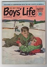 The Best From Boys' Life Comics #2 1958 Classics Illustrated Bsa