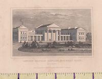 C1840 Vittoriano Stampa ~Londra~ Orphan Asylum - Hackney Road