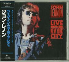 JOHN LENNON Live in New York City CD JAPAN NEW The Beatles CP32-5126 s5457