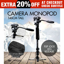Universal Fluid Head Camera Monopods