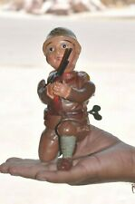 Vintage Fine Army / Military Soldier With Gun Celluloid Toy, Japan