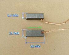 1pair 8.3*11*28MM High power motor carbon brush Vacuum cleaner motor brushes