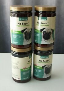 NaturVet No Scoot Supplement Powder Plus Pumpkin 5.4oz, Best By 06/2022 Qty.1
