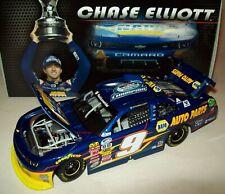 Chase Elliott 2014 NAPA #9 Nationwide Champion Rookie Chevy 1/24 NASCAR Diecast