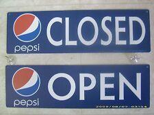 Open/Closed Pepsi-Cola Menu Board Sign