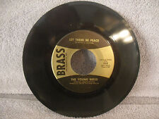 The Young Breed, Let There Be Peace / Carol Of The Drum, Brass 322, Christmas