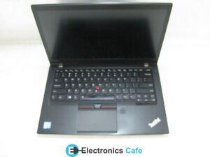"""Lenovo T460s 14"""" Laptop 2.40 GHz i5-6300U 4GB RAM (Grade C No Battery, Caddy)"""
