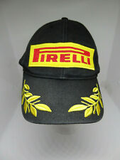 Broderie Pirelli Racing Hat F1 Sports Moto Cadeau Pack Visière Casquette De Baseball Coton Rouge