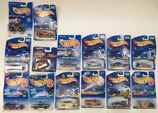 Lot of 14 Hot Wheels Die Cast Cars Trucks