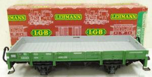 LGB 4010 Green 4-Wheel European Low Side Gondola EX/Box