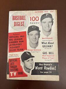 September 1953 Baseball Digest