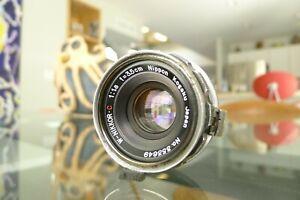 Nikon W-Nikkor C 3.5cm 35mm f/1.8 S Mount lens Rangefinder S2 SP Excellent User