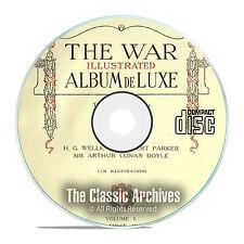 The War Illustrated Album Deluxe, World War 1, 10 Volume Complete Set PDF CD E63