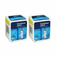 Contour Next Blood Glucose Test Strips 2 Boxes of 50 ct = 100 Strips Exp 3/22