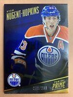 2013-14 Panini Prime Hockey #35 Ryan Nugent-Hopkins /299 Edmonton Oilers