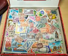 1200 WW stamp lot 'cigar box' full- many older! variety from albums- +U.S.  FP20