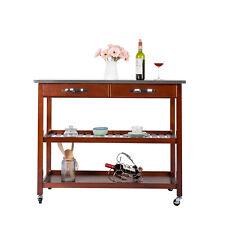 Chrome Kitchen Kitchen Islands Carts For Sale Ebay
