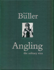 BULLER FRED PIKE FISHING BOOK ANGLING SOLITARY VICE hardback LIMITED signed NEW