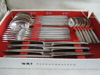 WMF PATENTBESTECK Auerhahn 90 PARIS VTG Silver Plate Flatware 6 Settings, 24 Pcs