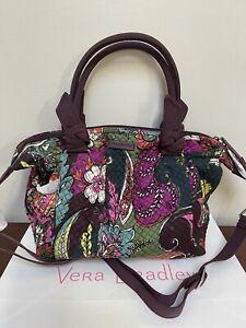 NWT Vera Bradley Hadley Shoulder Bag Satchel - Autumn Leaves