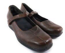 Kumfs New Zealand Mary Jane Shoes EU 40 US 9.5 Womens brown leather
