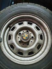 BMW 6,5 x 14  et 25 Stahlfelgen e28 e23 e12 selten