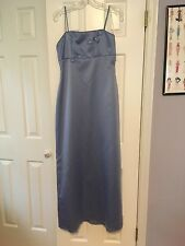 Elegant Evening Gown, Night Way Collections, size 8, Periwinkle, Wedding, Etc