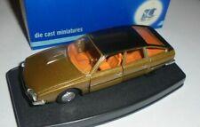 car 1/43 SCALE CARR 80802 CITROEN CX 2400 PALAS 1977 MET GOLD/BLACK NEW BOX