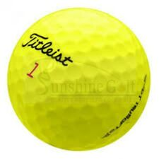 24 Near Mint Titleist DT TruSoft Yellow AAAA Used Golf Balls - Free Shipping