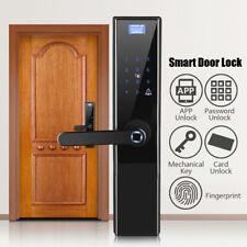 Security Electronic Smart Door Lock APP Touch Password Keypad Card Fingerprint