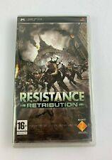 PSP Resistance Retribution, UK Pal, Brand New & Factory Sealed