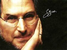 Steve Jobs + + AUTOGRAFO + + Apple fondatore + + computer legenda + + Autograph