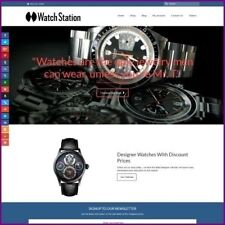Fully Stocked Dropshipping Designer Watches Website Store 300 Hits A Day
