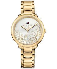 Tommy Hilfiger Women's Gold-Tone Bracelet Watch 36mm Model 1781781 WR 30 Meters
