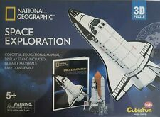 National Geographic: Space Exploration 3D Jigsaw Puzzle, 65 Pieces