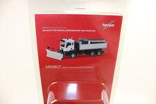 Herpa 013079 MINIKIT MAN TGS M 6x6 winterdienstfahrzeug Blanco 1:87 H0