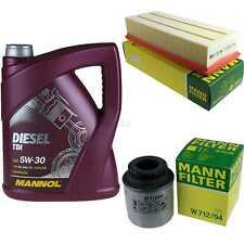 Motor-Öl 5L MANNOL Diesel TDI 5W-30+MANN-FILTER VW Passat 362 1.4 TSI EcoFuel