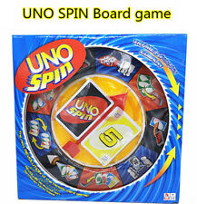 New  Uno Spin Card Travel Game Playing Card For Family Friends Party Fun