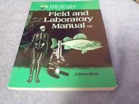 Biology: Field and Laboratory Manual