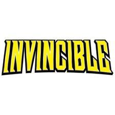 INVINCIBLE Logo Pin