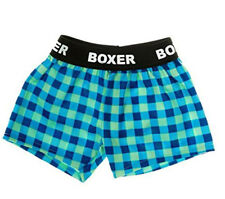 "Flannel Boxer Shorts Teddy Bear Clothes Fit 14"" - 18"" Build-a-bear and Make Your"