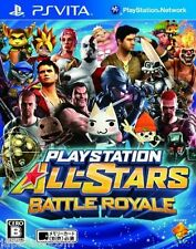 Used PS Vita PlayStation All-Stars Battle Royal SONY PLAYSTATION JAPANESE IMPORT