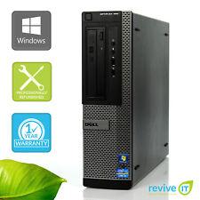 Dell Optiplex 390 DT  i3-2100 3.10GHz 8GB 256GB SSD Win 10 Pro 1 Yr Wty