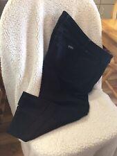 Eddie Bauer Women's Size 14 Curvy Crop Jeans Dark Blue Cotton