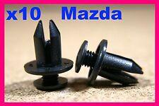 10 MAZDA mud guard splash mudguard screw type fastener retainer 7mm