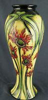 Stunning MOORCROFT Ragged Poppy Limited Edition Vase No31 of 350 Boxed 2003 28cm