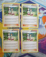 4X Teammates 141/160 XY Primal Clash Pokemon TCG Card NM