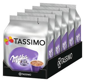 (EUR 2,08 / 100g) Tassimo Milka Kakaogetränk 5 x 8 Kaffeekapseln (5 x 240 g)